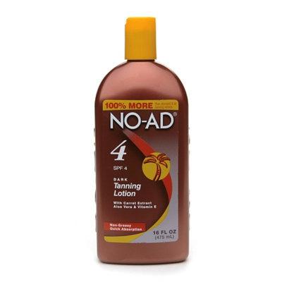 NO-AD Dark Tanning Lotion SPF 4