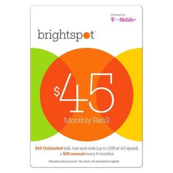 Interactive Communication brightspot $45 Prepaid Card