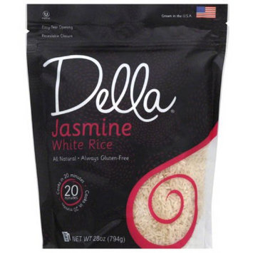 Della Gourmet Della Jasmine White Rice, 28 oz, (Pack of 6)
