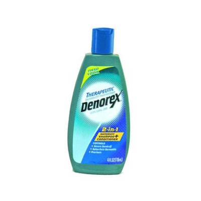 Denorex Therapeutic 2-in-1 Shampoo + Conditioner: 4 OZ