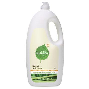 Seventh Generation Lemongrass & Clementine Zest Natural Dish Liquid - 50 oz