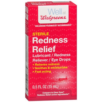 Walgreens Redness Relief Eye Drops
