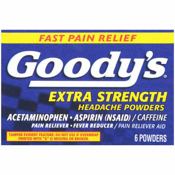 Goody's Acetaminophen Aspirin Extra Strength Headache Powders