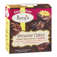 Lucy's Brownie Cakes Gluten Free - 4 PK