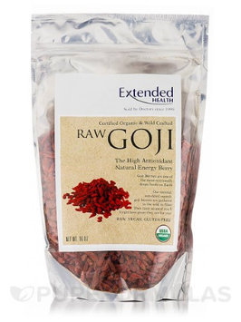 Raw Goji Berries 16 oz by Extended Health