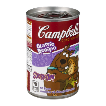 Campbell's® Classic Recipe Scooby-Doo Shaped Pasta with Chicken in Chicken Broth