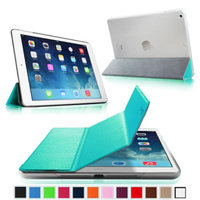 Fintie Ultra Slim Lightweight Case with Semi Transparent Hard Shell Cover for Apple iPad Air (5th Gen), Blue/Frost