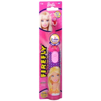 Firefly Kids! Barbie Light-Up Timer Toothbrush, 1 Each