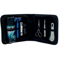 Trademark Art Trademark Home 8-Piece Men's Manicure and Shave Set