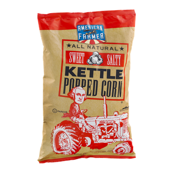 American Farmer Sweet Salty Kettle Popped Corn