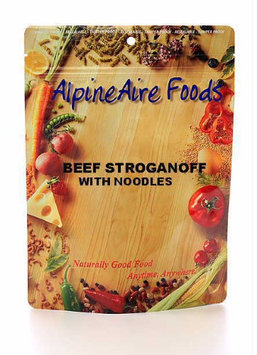 Alpine Aire 286048 Beef Stroganoff with Noodles Food