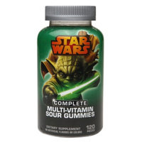 Star Wars Hero Multi-Vitamin Sour Gummies - 120 Count