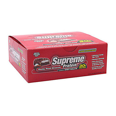 Supreme Protein Rocky Road Brownie Protein Bars
