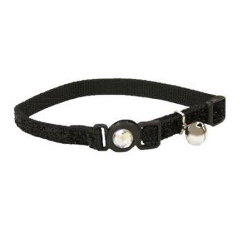 Safe Cat Collars Safe Cat Jeweled Adjustable Breakaway Cat Collar - Bl