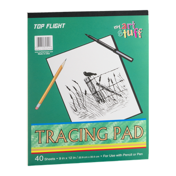 Top Flight My Art Stuff Tracing Pad - 40 Sheets
