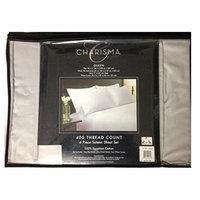 Charisma 400 Thread Count 6 Piece Sateen Sheet Set 100% Egyption Cotton Micro Chip