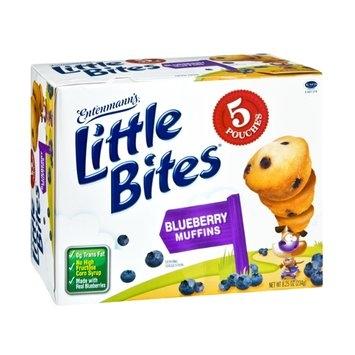 Entenmann's Little Bites Blueberry Muffin Pouches - 5 CT