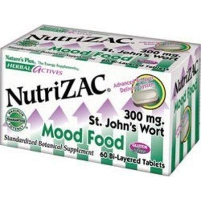 Nature's Plus Nutri-ZAC Mood Food - 60 Tabs