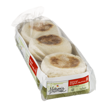 Nature's Promise Natural English Muffins - 6 CT