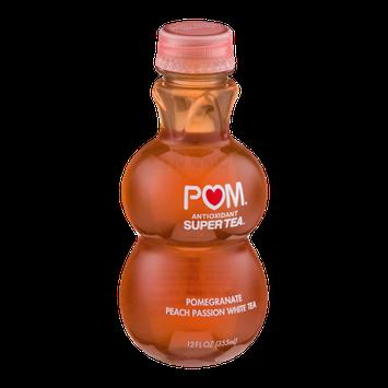 POM Antioxidant Super Tea Pomegranate Peach Passion White Tea