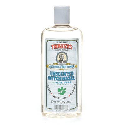 Thayers Alcohol-Free Witch Hazel with Organic Aloe Vera Formula Toner Unscented