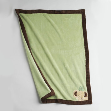 Nojo NoJo Newborn Boys Safari Baby Plush Fleece Blanket - CROWN CRAFTS INFANT PRODUCTS, INC.