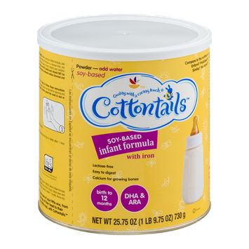 Cottontails Soy-Based Infant Formula with Iron