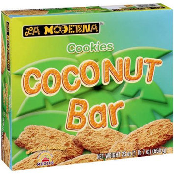 La Moderna Coconut Bar Cookies - 10 Boxes (23 oz ea)