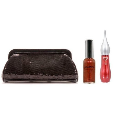 Liptini - Black Cocktail Clutch Collection