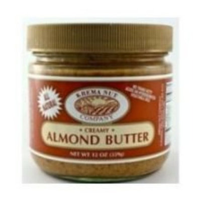 Krema Almond Butter, 12 Ounce -- 12 per case.