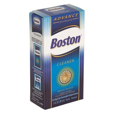 Boston Cleaner for Rigid Gas Permeable Contact Lenses, Advance Formula, 1-Ounce Bottles (Pack of 2)