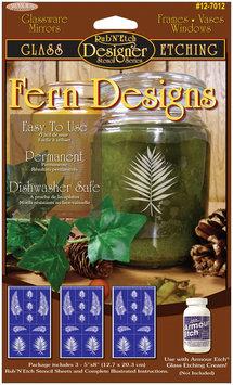 Armour Products Fern -Rub N' Etch Designer