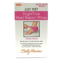 Sally Hansen® Just Feet Spa Night Time Heel Repair Wrap