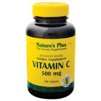 Nature's Plus - Vitamin C, 500 mg, 180 tablets Health and Beauty