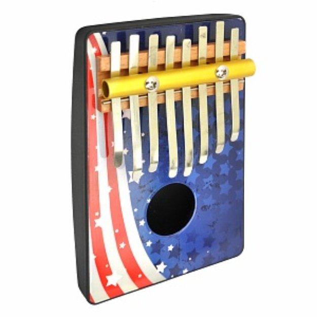 Schoenhut American Flag 8 Note Thumb Piano