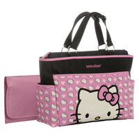 Hello Kitty Diaper Bag Tote - Black/Pink