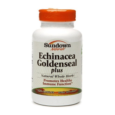 Sundown Naturals Echinacea Goldenseal Plus