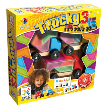 Smart Games Trucky 3 Kids Puzzle Games