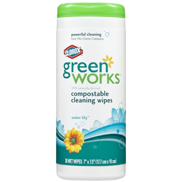 Clorox Green Works Compostable Cleaning Wipes
