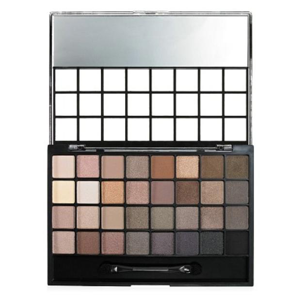 e.l.f. Eyeshadow Palette (32 Piece), Natural, .99 oz