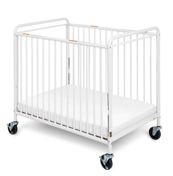 Foundations Worldwide Foundations Chelsea Euro Clear Choice Mini Crib in White