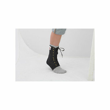 Core Products Lace Up Ankle Support in Black