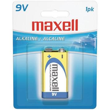 MAXELL 721110 - 6LF221BP Alkaline Batteries 9V PK 1 Pk