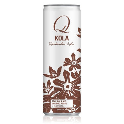 Q Drinks SPRKLNG WTR,Q KOLA, CAN, (Pack of 6)
