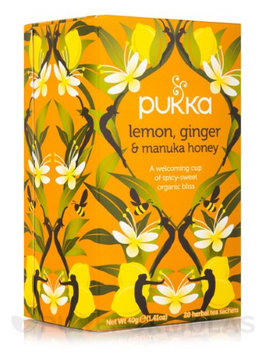 Pukka Herbs Og2 Lemon Ginger Honey Tea (6x20BAG)