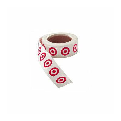 Target Bullseye Stickers (Roll of 1