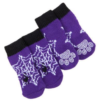 Top PawA Spider Web Socks