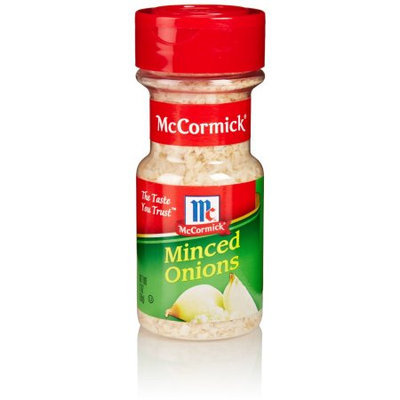 Dry Onion & Garlic Minced Onion, 2 OZ (Pack of 6)