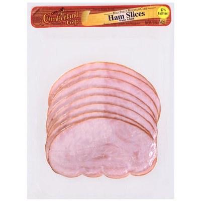 Cumberland Gap Mild Sweet Mountain Cured Ham Slices, 12 oz