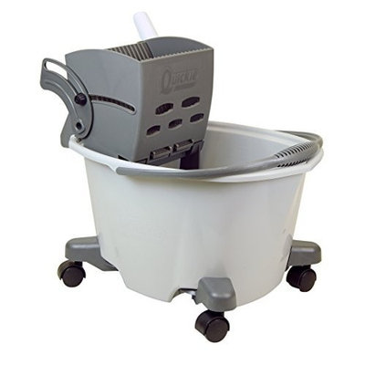 Quickie Home Pro Quickie Easy Glide Mop Bucket with Wringer